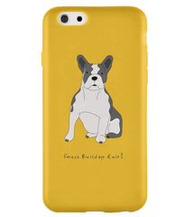 iPhone 6s Full Wrap Phone Case - French Bulldogs Rule!