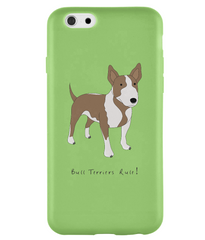 iPhone 6 Full Wrap Case - Bull Terriers Rule! - Dogs Rule!