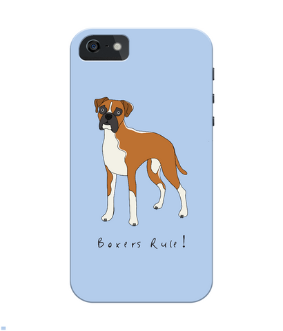 iPhone 4/4s Full Wrap Phone Case - Boxers Rule!