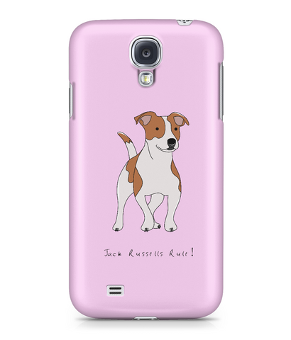 Samsung Galaxy S4 Full Wrap Phone Case - Jack Russells Rule!