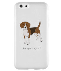 iPhone 6s Full Wrap Phone Case - Beagles Rule!
