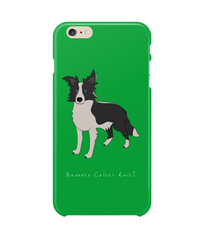 iPhone 6 Plus Full Wrap Phone Case - Boarder Collies Rule!
