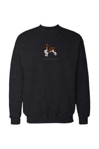 Mens Drop Shoulder Sweatshirt - Springer Spaniels Rule!