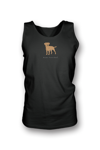 Mens Tank Top T-Shirt - Boarder Terriers Rule! Black