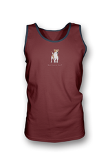Mens Tank Top T-Shirt - Jack Russells Rule! Independence red