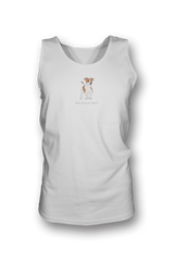 Mens Tank Top T-Shirt - Jack Russells Rule! White