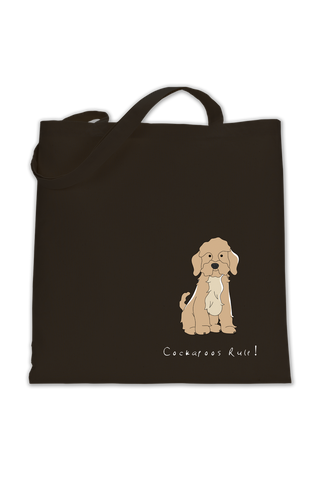 Shoulder Tote Bag - Cockerpoos Rule!