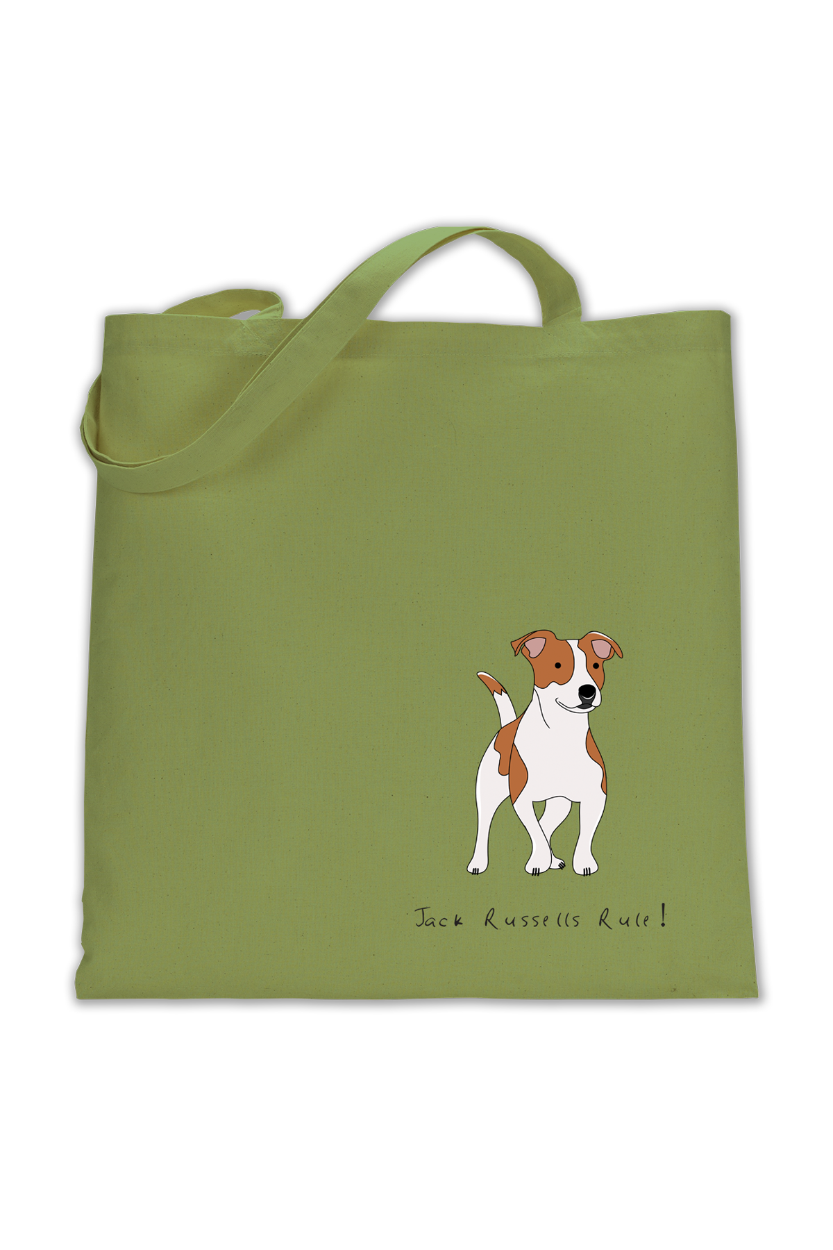 Shoulder Tote Bag - Jack Russells Rule!