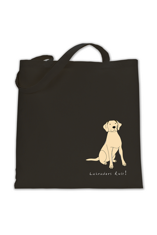 Shoulder Tote Bag - Labradors Rule!