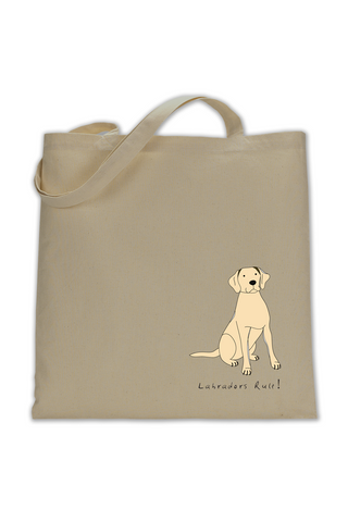 Shoulder Tote Bag - Labradors Rule! - Dogs Rule!