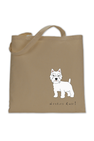 Shoulder Tote Bag - Westies Rule!
