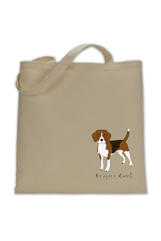 Shoulder Tote Bag - Beagles Rule! - Dogs Rule!