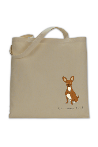 Shoulder Tote Bag - Chihuahuas Rule! - Dogs Rule!