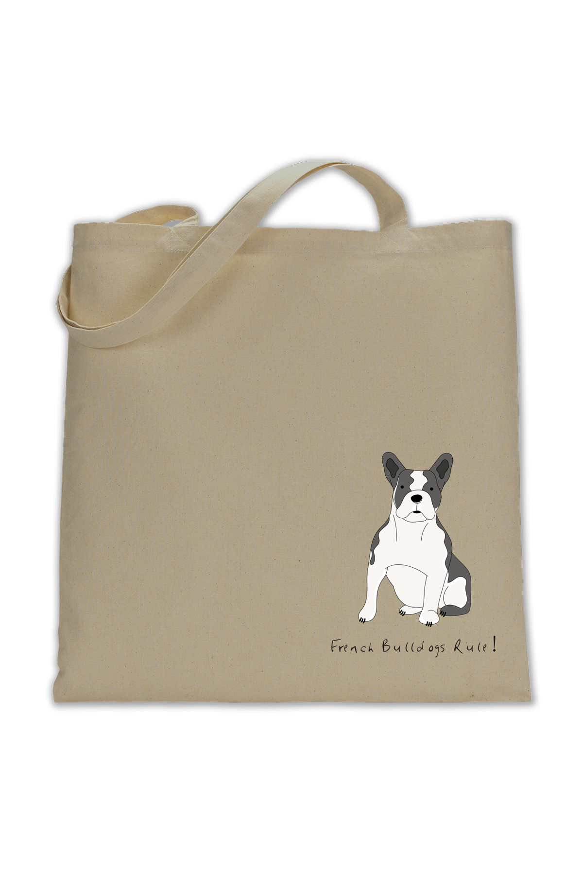 Shoulder Tote Bag - French Bulldogs Rule! - Dogs Rule!