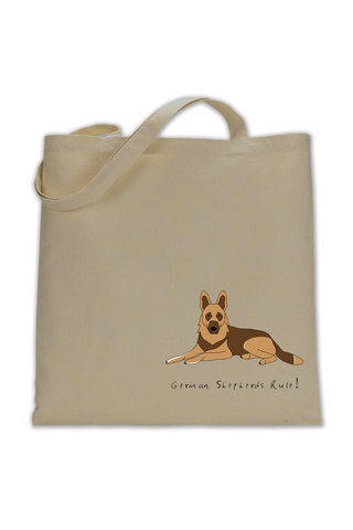 Shoulder Tote Bag - German Shepherds Rule! - Dogs Rule!