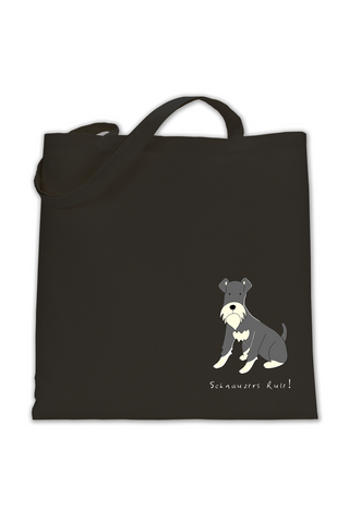 Shoulder Tote Bag - Schnauzers Rule!