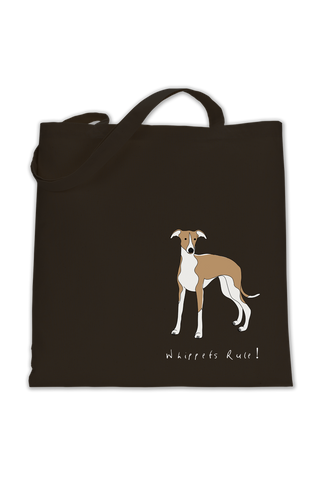 Shoulder Tote Bag - Whippets Rule!