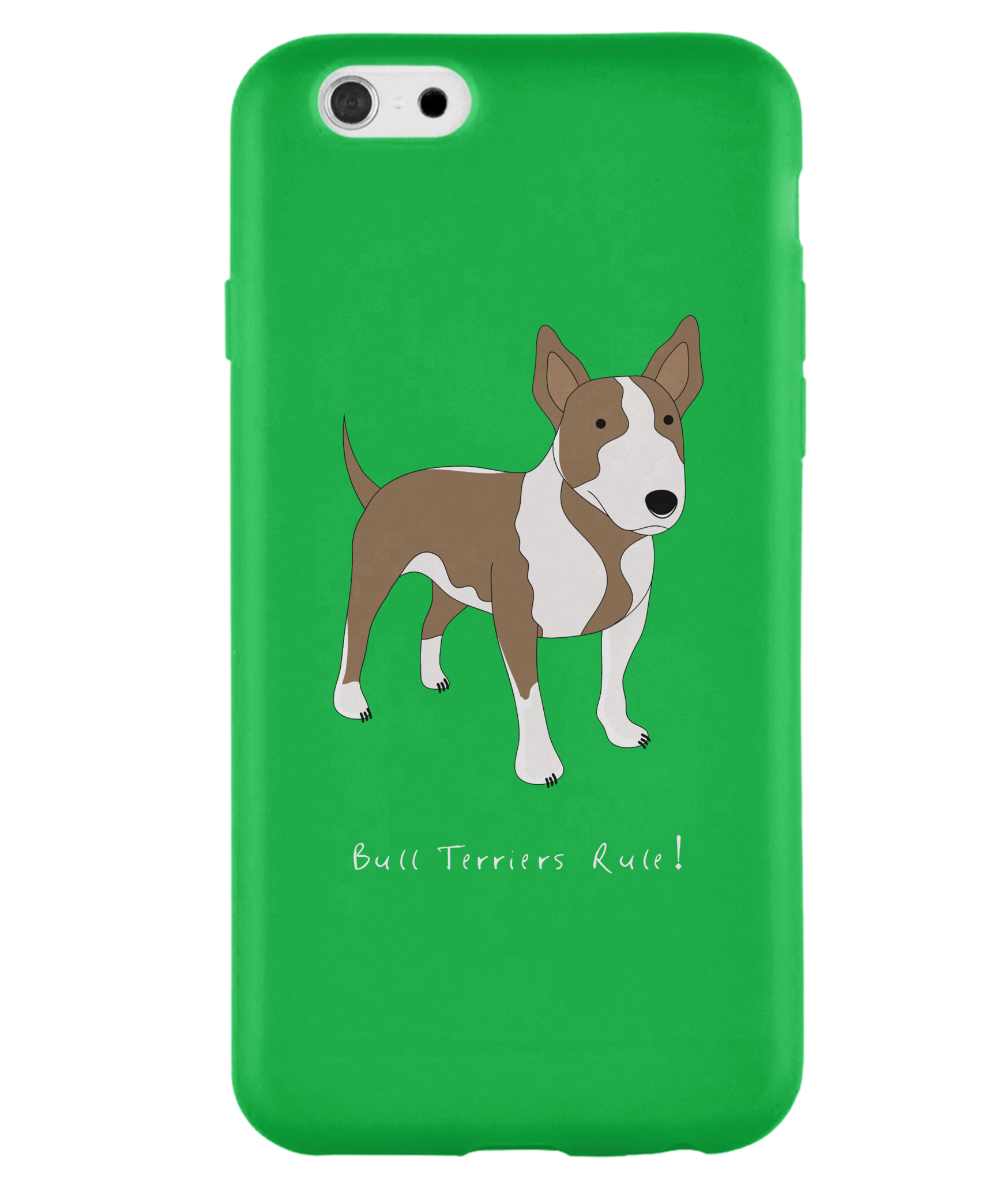 iPhone 6s Full Wrap Case - Bull Terriers Rule! - Dogs Rule!
