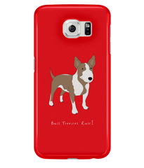 Samsung Galaxy S6 Full Wrap Phone Case - Bull Terriers Rule!