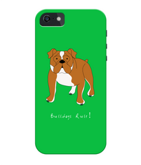 iPhone 5c Full Wrap Phone Case - Bulldogs Rule!