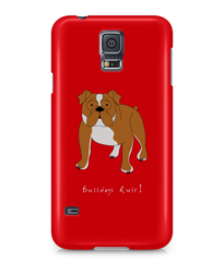 Samsung Galaxy S5 Full Wrap Phone Case - Bulldogs Rule!