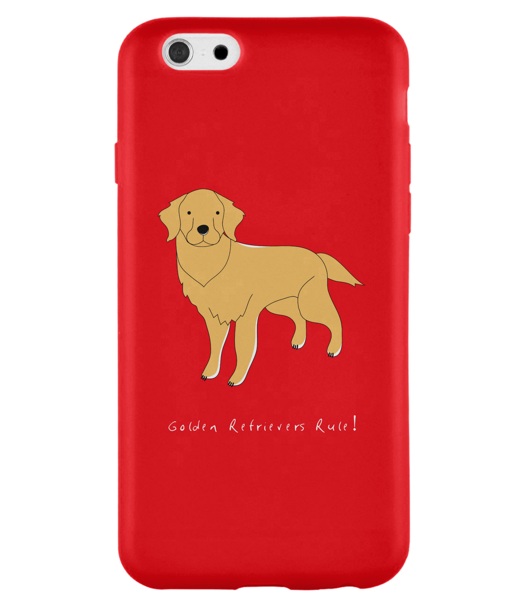 iPhone 6 Full Wrap Case - Golden Retrievers Rule! - Dogs Rule!