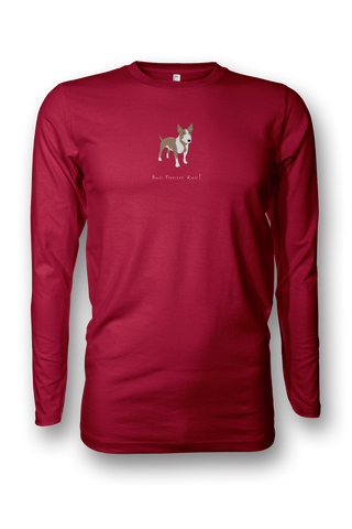 Mens Long Sleeve T-Shirt - Bull Terriers Rule!
