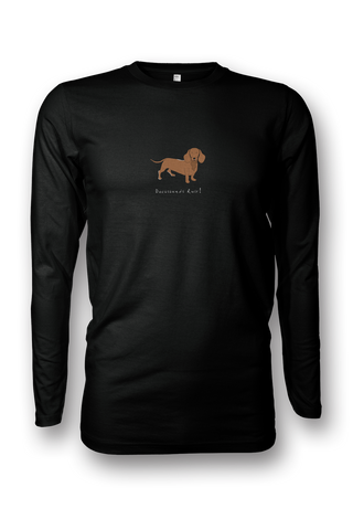 Mens Long Sleeve T-Shirt - Dachshunds Rule! - Dogs Rule!