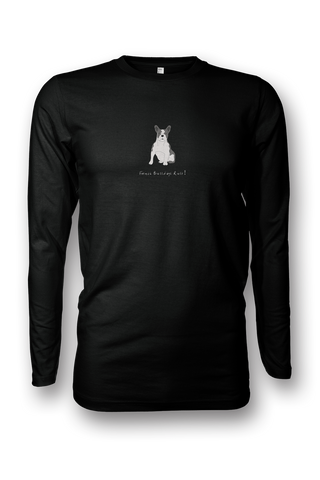 Mens Long Sleeve T-Shirt - French Bulldogs Rule! - Dogs Rule!