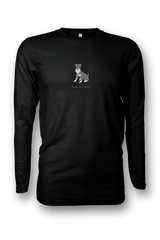 Mens Long Sleeve T-Shirt - Schnauzers Rule! - Dogs Rule!