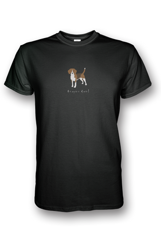 Mens Crew Neck T-Shirt - Beagles Rule! - Dogs Rule!