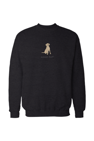 Mens Drop Shoulder Sweatshirt - Labradors Rule! - Dogs Rule!