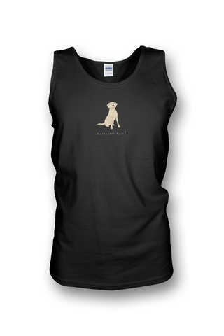 Mens Tank Top T-Shirt - Labradors Rule! - Dogs Rule!