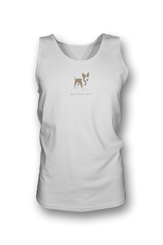 Mens Tank Top T-Shirt - Bull Terriers Rule! - Dogs Rule!
