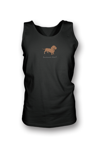 Mens Tank Top T-Shirt - Dachshunds Rule! - Dogs Rule!