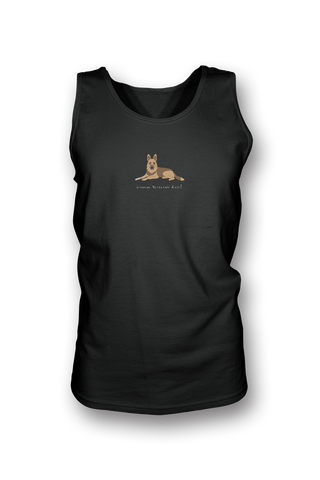 Mens Tank Top T-Shirt - German Shepherds Rule! - Dogs Rule!