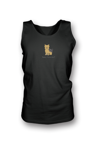 Mens Tank Top T-Shirt - Yorkshire Terriers Rule! - Dogs Rule!