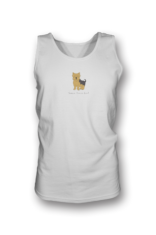 Mens Tank Top T-Shirt - Yorkshire Terriers Rule!