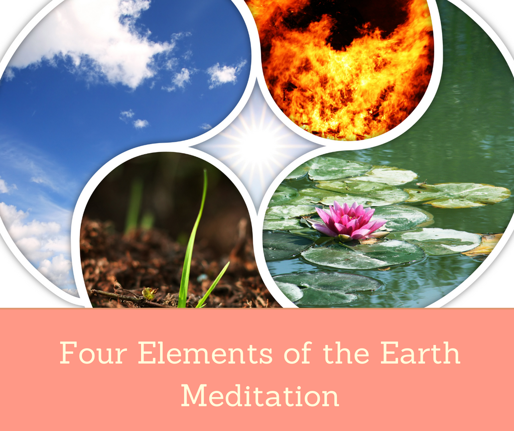 Four Elements of the Earth Meditation | Essential Rose Life