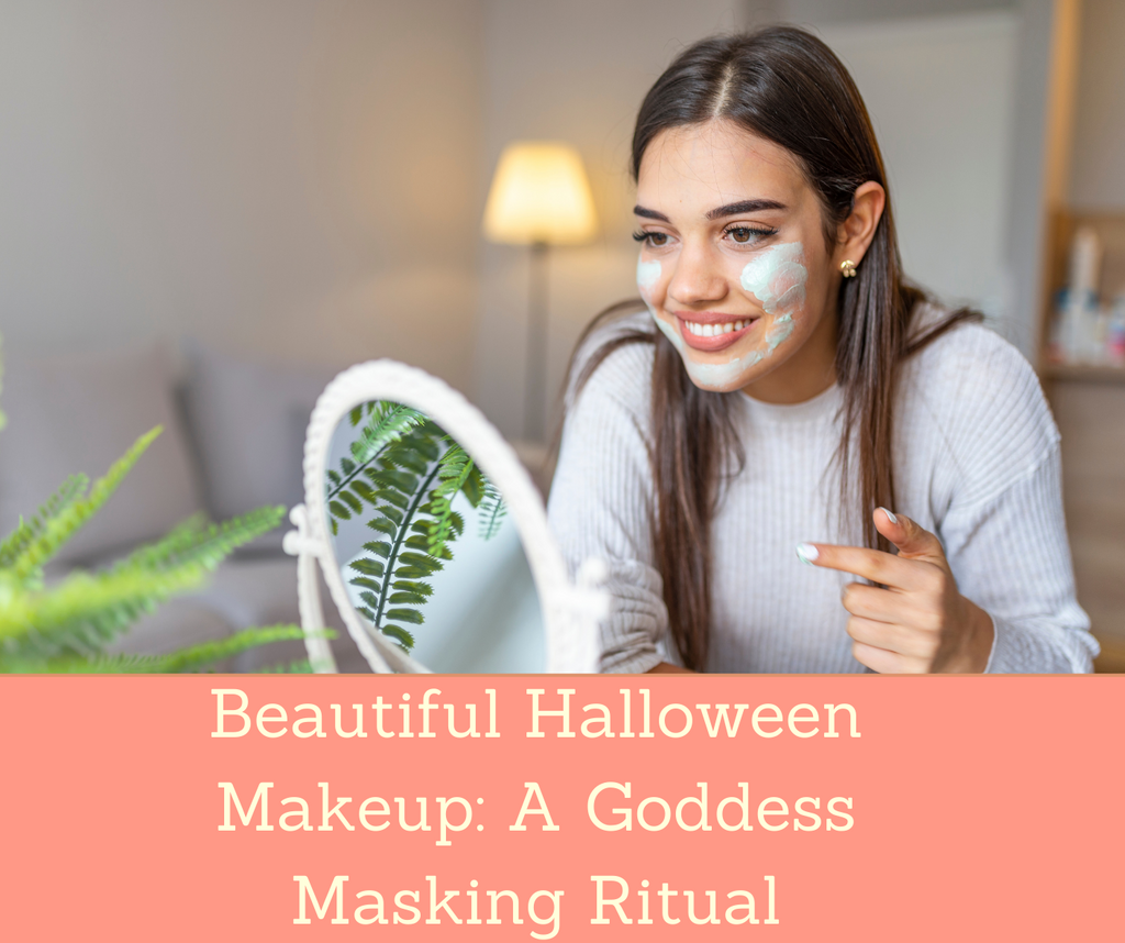 Beautiful Halloween Makeup: A Goddess Masking Ritual | Essential Rose Life