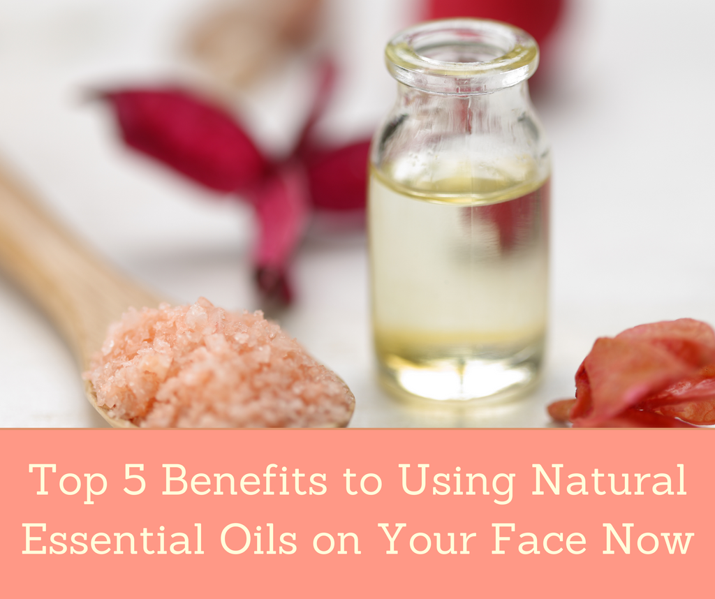 Top 5 Benefits to Using Natural Essential Oils Every Day