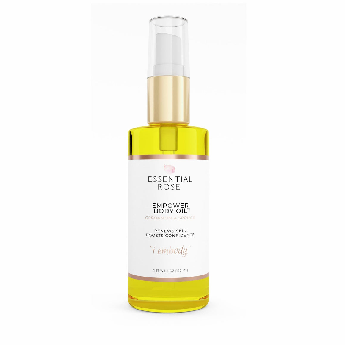 Empower Body Oil - Essential Rose Life