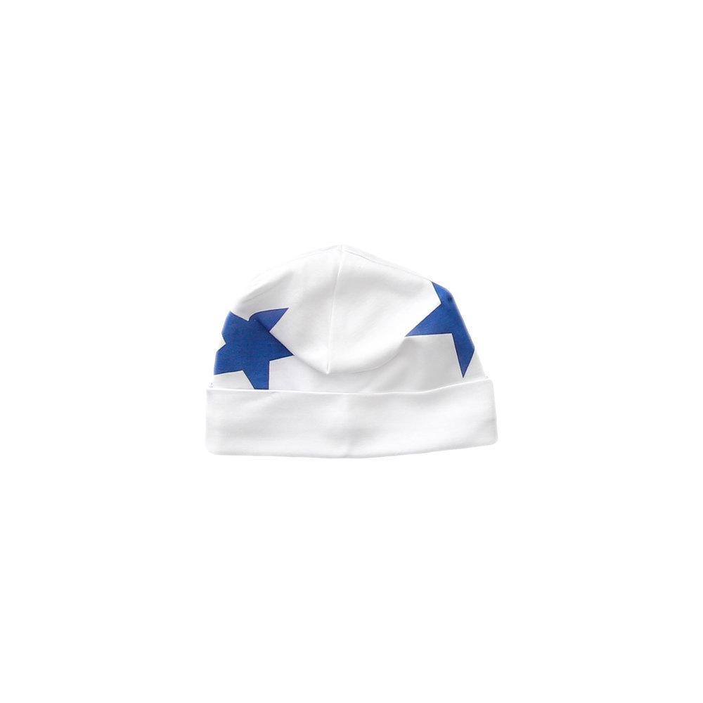 Blue Bold Star Receiving Hat