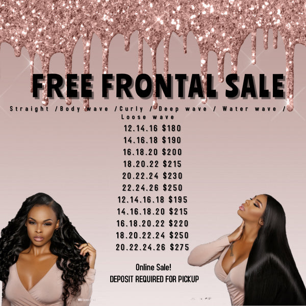 FREE FRONTAL SALE