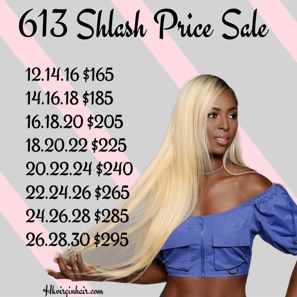 613 SLASH PRICE SALE