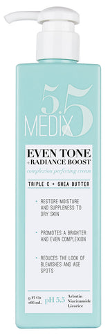 Medix 5.5 Even Tone + Radiance Boost Complexion Perfecting Cream