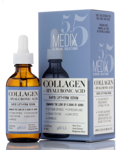 Medix 5.5 Collagen + Hyaluronic Acid Rapid Lift & Firm Face Serum