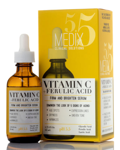 Medix 5.5 Vitamin C + Ferulic Acid Firm and Brighten Face Serum