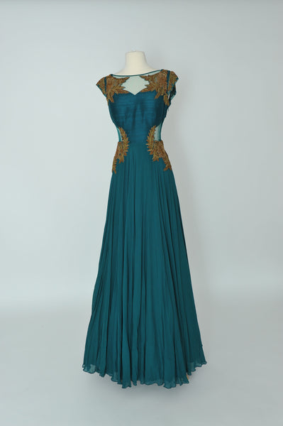 Teal Gown