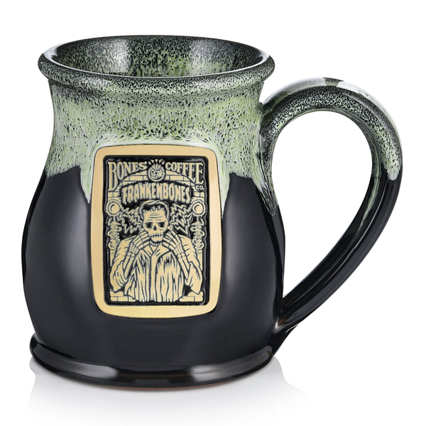 Frankenbones Handthrown Mug from Bones Coffee Company